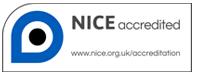 NICE accreditation logo